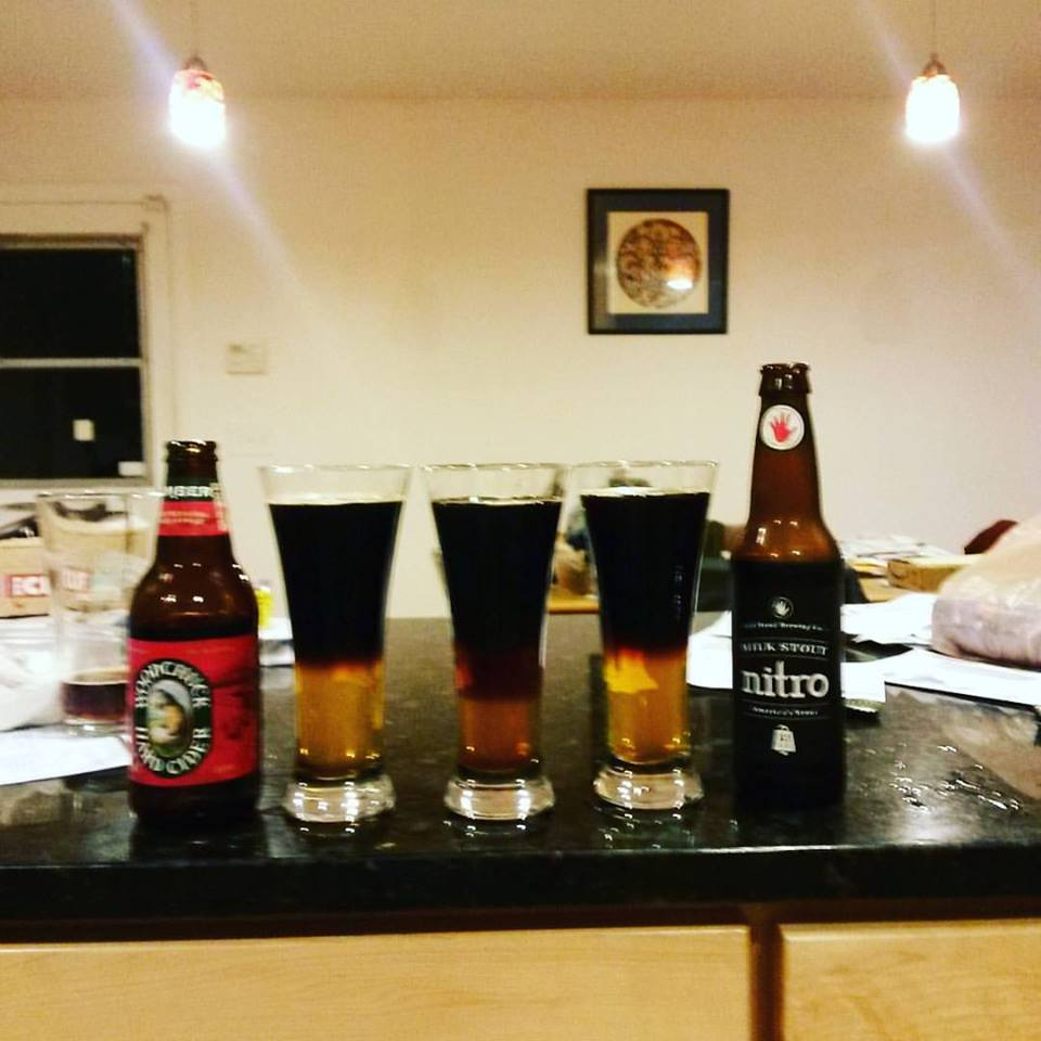 Cider and Stout, Upside Down #recipe