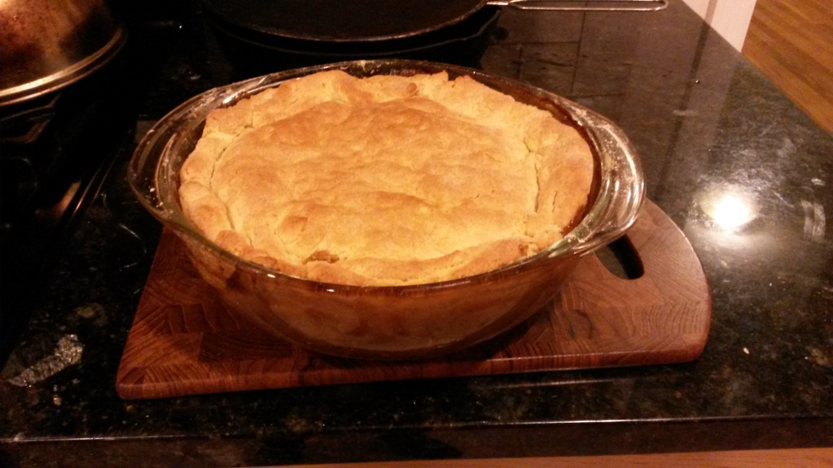 A Meat Pie in the English Style