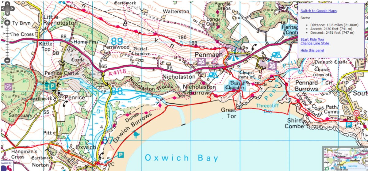 A Fun Walk on the Gower (or Gwr).