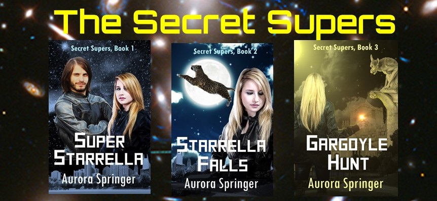The Secret Supers – A guest post from Aurora Springer.