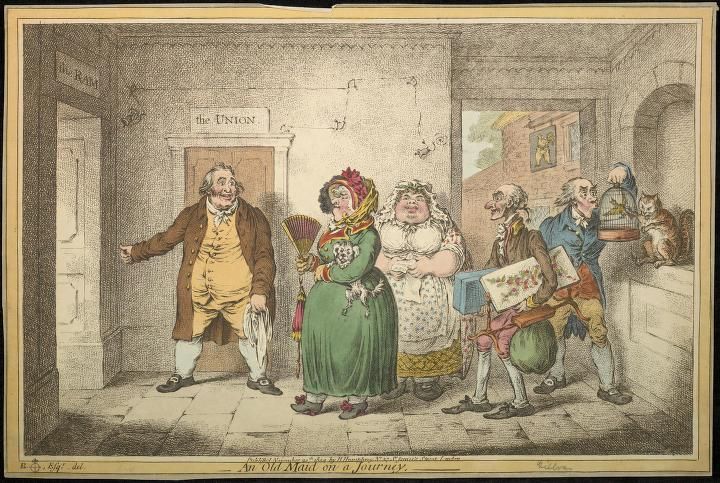 an-old-maid-on-a-journey-1804-gilray