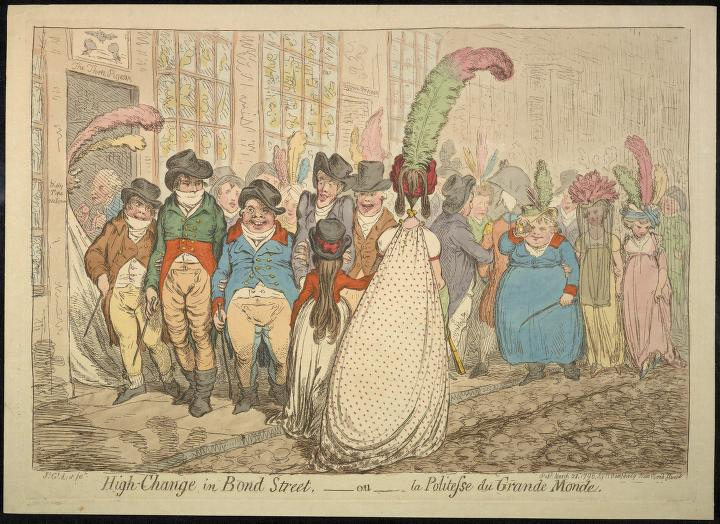 high-change-in-bond-street-1796-gilray